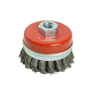 view Twist Knot Cup Brushes for Grinders products