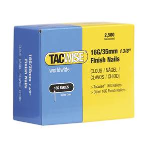 view Tacwise 16 Gauge Straight Finish Nails products