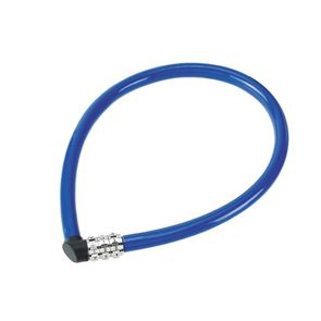 ABUS Mechanical 1100/55 Combination Coloured Cable Lock 55cm x 6mm