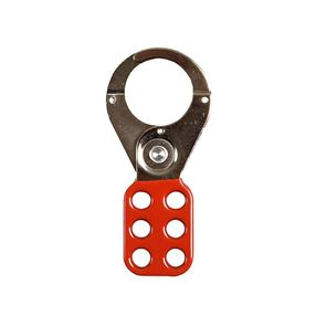 ABUS Mechanical 702 Lock Off Hasp 38mm (1.1/2in) Red