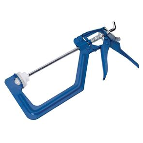 BlueSpot Tools One-Handed Ratchet Clamp 150mm (6in)