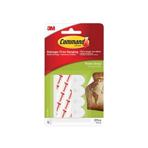 Command™ Poster Strips (Pack 12)