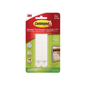 Command™ Narrow Picture Hanging Strips (Pack 4)