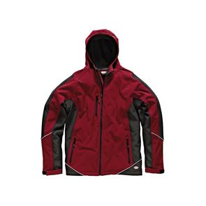 Dickies Two Tone Softshell Red/Black Jacket - M (40-42in)