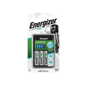 Energizer® 1 Hour Charger plus 4 x AA 2300 mAh Batteries