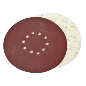 Faithfull Dry Wall Sanding Discs for Flex Machines 225mm Assorted (Pack 10)