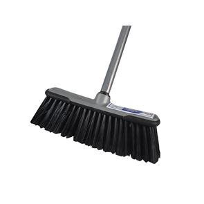 Faithfull Soft Broom with Screw On Handle 300mm (12in)