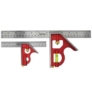 Faithfull Combination Square Twin Pack 150mm (6in) & 300mm (12in)
