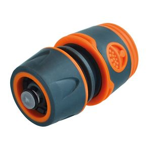 Faithfull Plastic Water Stop Hose Connector