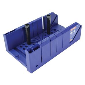Faithfull Plastic Mitre Box with Pegs 310mm (12.1/4in)