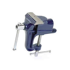 Faithfull Hobby Vice 60mm (2.1/2in) with Integrated Clamp