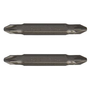 IRWIN® Screwdriver Bits PZ2/PZ2 Double-Ended 50mm (Pack 2)
