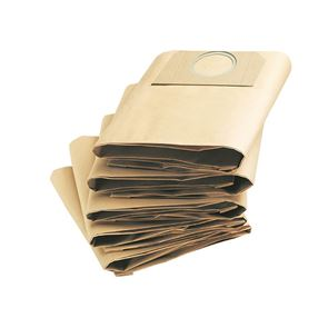 Karcher Dust Bags for A2234 A2200 MV2 and WD2 Vacuum (Pack 5)