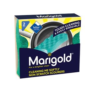 Marigold Cleaning Me Softly Non-Scratch Scourers x 2 (Box 14)
