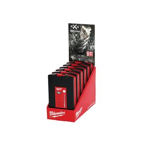 Milwaukee Power Tools SDS Plus RX4 Drill Bit Set of 7 Counter Display of 6