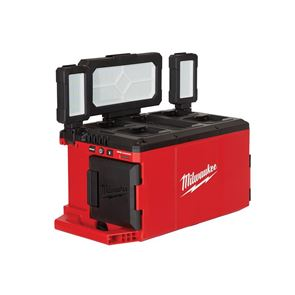 Milwaukee Power Tools M18 POALC-0 PACKOUT™ Area Light/Charger 110/240V & Li-ion Bare Unit