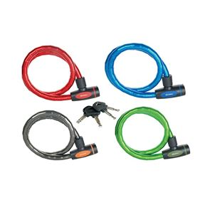 Master Lock Mixed Color Keyed Armoured Cable 1m x 18mm