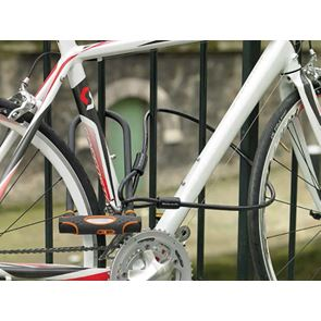 Master Lock High Security U-Bar with Cable 280 x 110 x 13mm
