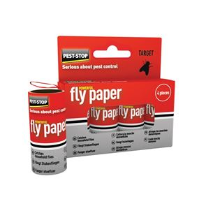 Pest-Stop (Pelsis Group) Fly Papers (Pack 4)