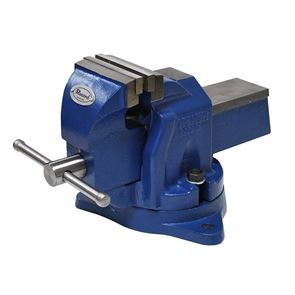 IRWIN® Record® Workshop Vice with Anvil, Swivel Base