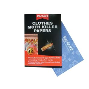 Rentokil Clothes Moth Papers (Pack 10)