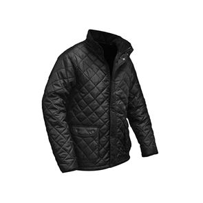Roughneck Clothing Black Quilted Jacket - XL (48in)
