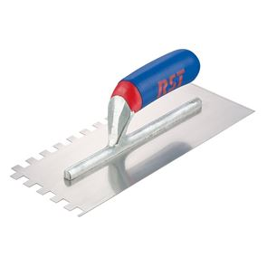R.S.T. Notched Trowel Square 6mm² Soft Touch Handle 11 x 4.1/2in