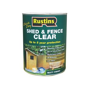 Rustins Quick Dry Shed and Fence Clear Protector