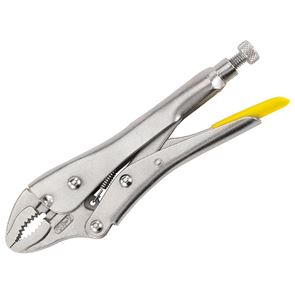 STANLEY® Curved Jaw Locking Pliers