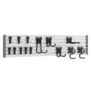 STANLEY® Track Wall System Starter Kit, 20 Piece