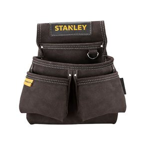 STANLEY® STST1-80116 Leather Double Nail Pocket Pouch