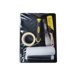 STANLEY® Roller & 1.5in Max Finish Brush Set, 6 Piece
