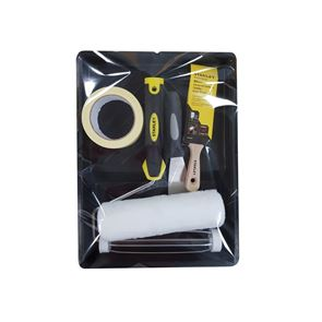 STANLEY® Roller & 2in Stubby Max Finish Brush Set, 6 Piece