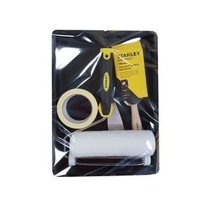 STANLEY® Roller & 3in Max Finish Brush Set, 6 Piece