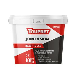 Toupret Ready To Use Joint & Skim 10kg