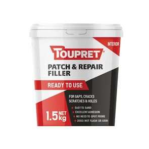 Toupret Ready to Use Patch & Repair 1.5kg